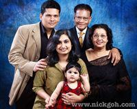 Indian Family Photo Studio Pictures - Nick Goh